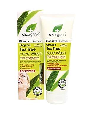 Dr Organic Detergente Viso Tea Tree 200 ml