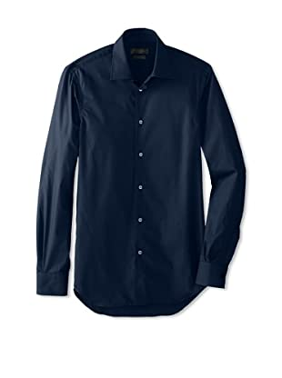 Calvin Klein Collection Men's Marianna Slim Fit Dress Shirt (Sapphire Blue)