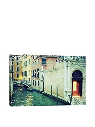 Venice At Dusk Gallery Wrapped Canvas Print