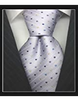 SPEAK Elegant Grey Dotted Tie