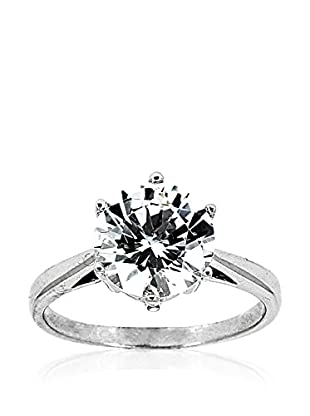 Fashion Victime Anillo Solitaire Star