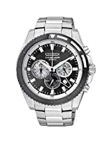 Citizen Silver Metal Analog Men Watch ᅵᅵᅵ P14004