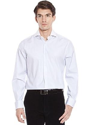 Hackett Camicia Righe (Bianco/Lilla)