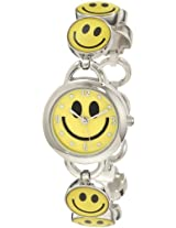 Frenzy Kids' FR279 Smiley Face Novelty Analog Bracelet Watch