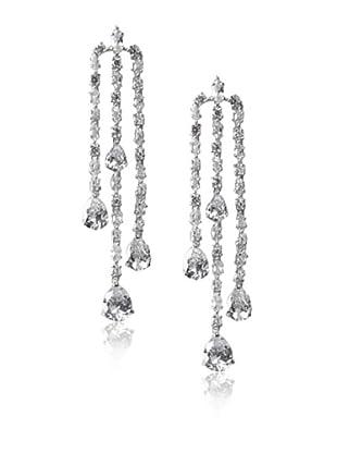 CZ By Kenneth Jay Lane Dangling Chandelier Earrings