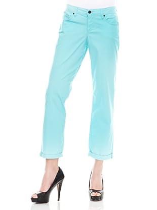 Calvin Klein Jeans Vaquero 5 Bolsillos Pitillo (Azul Claro)