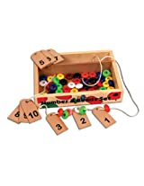 Skillofun Number and Bead Set, Multi Color