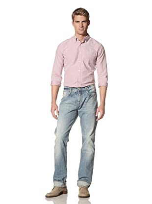 Scotch & Soda Men's Snatch Regular Fit Jeans (Surf And Turf)