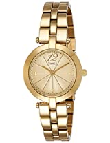 Timex Analog Gold Dial Women's Watch - T2P5486S