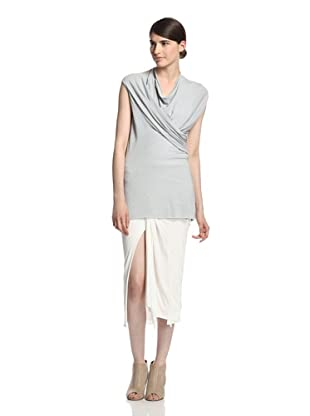 Rick Owens Lilies Women's Draped Top (Cloud)