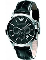 Emporio Armani Chronograph Black Dial Women's Watch - AR2447