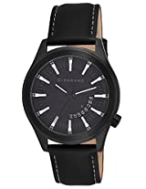 Giordano Analog Black Dial Men's Watch - 1671-02