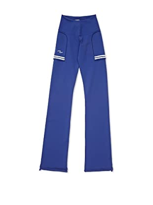Naffta Pantalón Ajustado (Azul / Blanco)