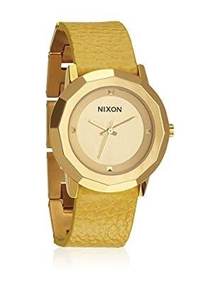 Nixon Uhr mit japanischem Quarzuhrwerk Woman A341-501 35 mm