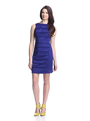 Julia Jordan Women's Scuba Bodycon Knit Dress (Royal)