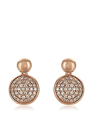 Bentelli Pendientes 9K Gold 0.35Ct Diamonds Oro Rosa