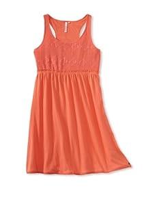 O'Neill Girl's 7-16 Adrianna Jersey Dress (Hot Coral)