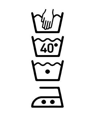 Ambiance Sticker Wandtattoo Washing Machine Symbolss