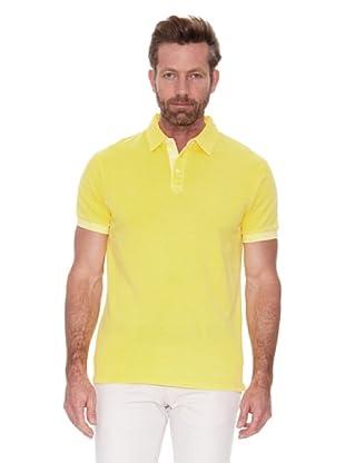 Cortefiel Polo Piqué Tinte Prenda Sun Fa (Amarillo)