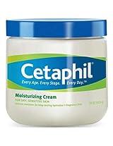 Cetaphil Moisturizing Cream For Dry / Sensitive Skin / Fragrance Free / Non - Comedogenic - 20Oz