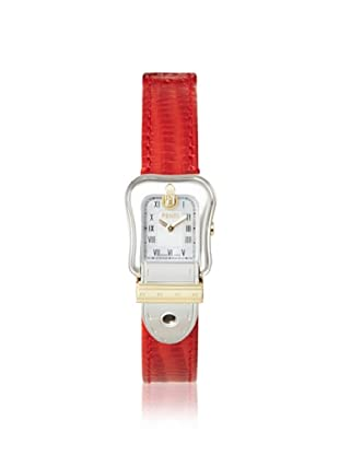 Fendi Women's F372247 Red Mother of Pearl Leather Watch