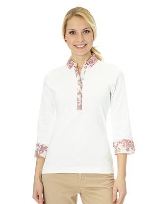 Bogner Poloshirt 3/4 Arm Emilya (Off White)