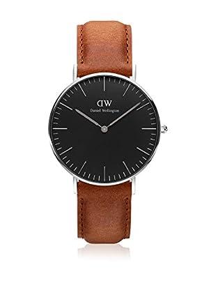 Daniel Wellington Reloj con movimiento cuarzo japonés Man Classic Durham light brown 40 mm