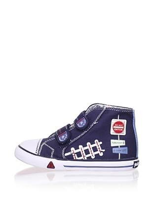 Pablosky Kid's High-Top Sneaker (Navy)