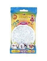 Bulk Buy:Hama Clear 207 19 Color Midi Beads 1,000 Count (3 Pack)