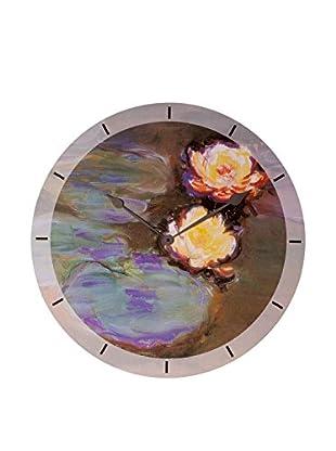 Artopweb Reloj De Pared Monet Nympheas