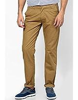 Dark Khaki Casual Trouser