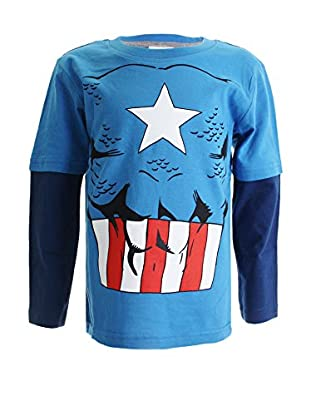 Marvel Longsleeve Captain America Costume