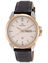Maxima Analog Silver Dial Men's Watch - 26346LMGT