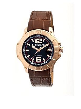 Heritor Automatic Uhr Norton Herhr3008 braun 48  mm