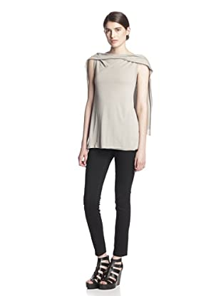 Rick Owens Lilies Women's Draped Top (Pearl)