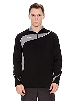 Jako Chaqueta Running Competition (Negro / Gris)