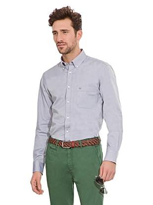 Pedro del Hierro Camisa Bolsillo (Gris)