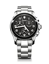 Victorinox Chrono Classic Analogue Black Dial Men's Watch - 241544