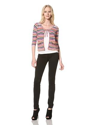 Just Cavalli Women's Knit Cardigan (Multi)