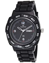 Maxima Analog Black Dial Men's Watch - 27817PPGW