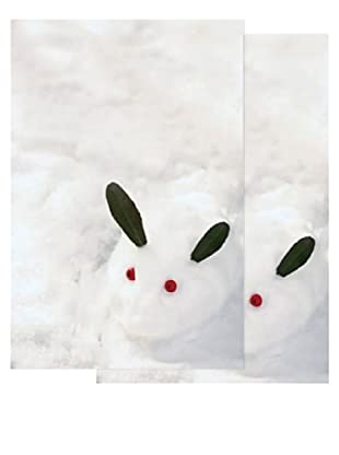 Nouvelles Images Snow Rabbit 2-Pack Greeting Cards
