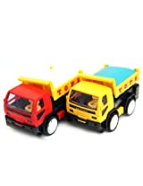 smiles creation push and Go cartoon friction truck(SET OF TWO)