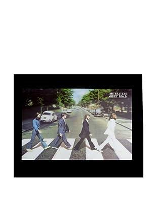 The Beatles Abbey Road Framed 3-D Hologram Poster