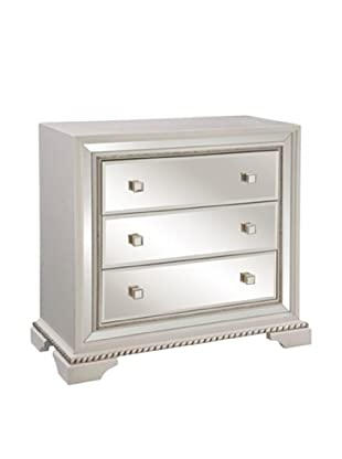 Bassett Mirror Amando Hall Chest, White