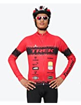 Triumph Firefox Bikewear jersey for Men/Women, Red, SizeM (XXXL)
