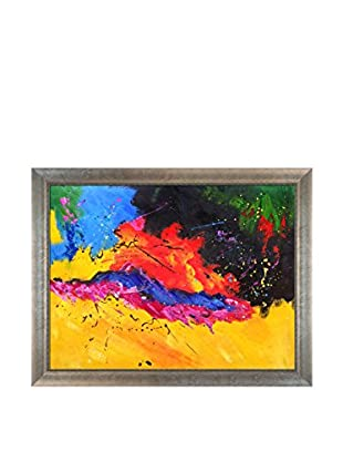 Pol Ledent Abstract 1811806 Framed Hand-Painted Reproduction