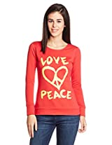 Style Quotient By NOI Women's Cotton Graphic Print Sweatshirt