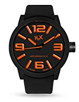 H2X Turbina Analog Black Dial Men's watch - SN395UNO