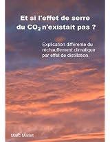 Et si l'effet de serre du CO2 n'existait pas ? Explication différente du réchauffement climatique par effet de distillation. (French Edition)