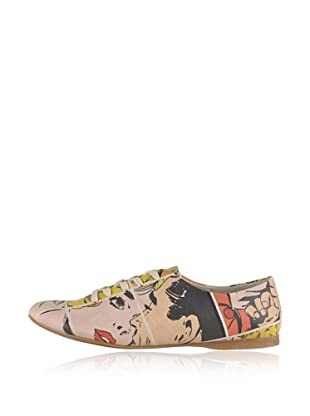 Dogo Oxford Kiss Me...Pop Art (Creme)